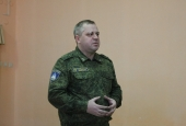 Астраханские кадеты встретились с бойцами