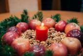 Новогоднее украшение деканатов