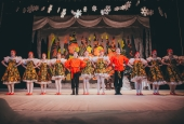 Новогодний концерт для сотрудников АГУ