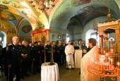 24.01.2012 Молебен в память невинно убиенных казаков