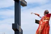25.05.2013 Присяга казаков у Поклонного креста в с. Рассвет