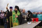 Икона Сергия Радонежского в Новоурусовке