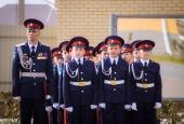 Воспитанники казачьего кадетского корпуса дали торжественное обещание служить вере православной, казачеству и Отечеству
