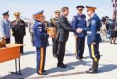 В Астрахани прошёл парад Победы