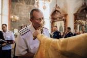 Астраханские казаки поклонились иконе «Спас Нерукотворный»