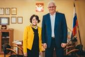АГУ посетила директор Итальянского института культуры в Москве