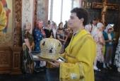 В Успенском соборе прошла Божественная литургия