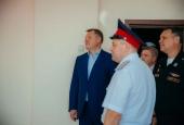 Игорь Бабушкин посетил казачий кадетский корпус