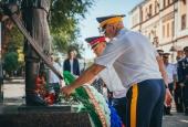 Астраханские казаки отметили день  казачества возложением цветов