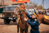 В Чёрном яру состоялся VII Казачий конный поход
