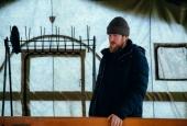 Атаман Астраханского казачьего округа Константин Маркелов окунулся в купель по случаю праздника Крещения Господня.