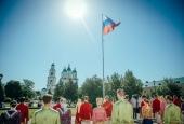 Казаки приняли участие в праздновании Дня России