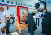 В Астрахань прибыла Донская икона Божией Матери