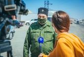 Астраханские казаки приняли участие в акции помощи нуждающимся семьям