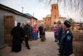 Фоторепортаж: встреча Константина Маркелова с казаками хутора