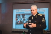 Старшее и молодое поколения казаков обменялись опытом на военно-спортивных сборах