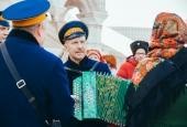 Хоровод, ручеёк и дударь: казаки отпраздновали Широкую масленицу