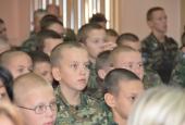 Казачий кадетский корпус им. Атамана Бирюкова отметил День учителя