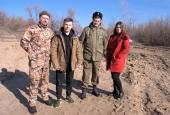День защитника Отечества в станице Астраханской