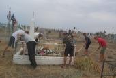Казачий отряд в Енотаевском районе