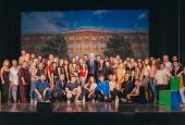 Первокурсников АГУ поздравили Константин Маркелов и Александр Жилкин