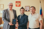 Italian Ph.D. Student Defends His Thesis at Astrakhan State University