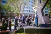 Астраханские казаки почтили память погибших воинов