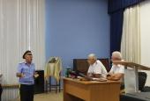 Астраханский округ посетил атаман Всевеликого войска Донского Виталий Бобыльченко