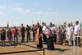Енотаевские казаки почтили память погибших предков
