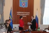 В Красноярском районе состоялось первое в этом году  заседание рабочей группы по делам казачества