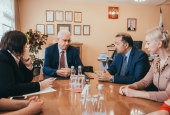 Uzbek Ministry Representative Thinks Highly of Cooperation with ASU