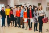 В Астраханском госуниверситете открылась выставка «Женский взгляд на красоту»