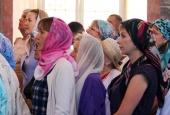 Астраханцы празднуют Успение Пресвятой Богородицы