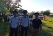 Красноярская казачья дружина обеспечивала охрану порядка в День пионерии