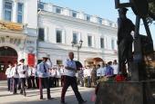 Астраханские казаки почтили память защитников Отечества