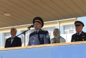 Казачий кадетский корпус получил в дар три иконы