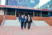 Сергей Морозов оценил проекты и инновации Астраханского госуниверситета