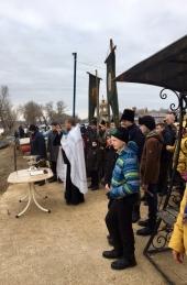 Енотаевские казаки провели Крещенские праздники с пользой