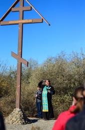 Поклонный Крест освящён!