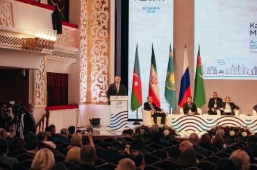 Представители АГУ приняли участие в VI Каспийском медиафоруме