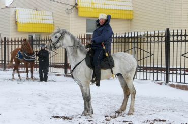 Фоторепортаж о буднях конного похода