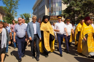 Вице-губернатор поздравил астраханцев с Днём города