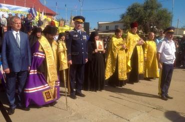 В селе Красный Яр состоялся традиционный праздник «Казачья станица»