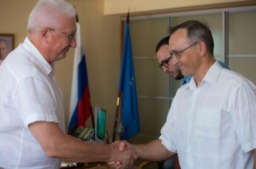 Ведущий учёный России предложил специалистам АГУ вместе работать над развитием наномедицины