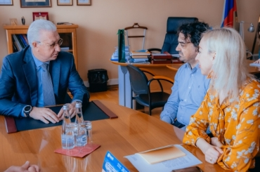 АГУ посетил эксперт итальянского университета