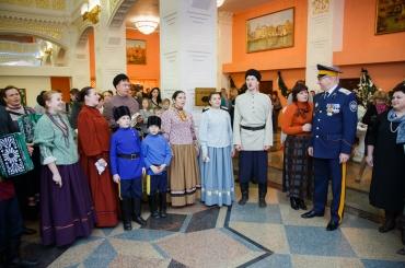 Казачата отметили Рождество на атаманской ёлке