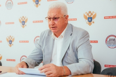 ASU Rector Outlines Work of Commission for Science, Research and Technology of Caspian Region States