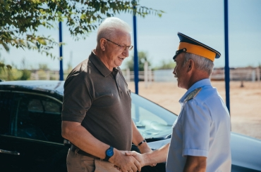 Константин Маркелов посетил станицу Черноярскую