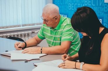 АГУ подписал соглашение о сотрудничестве с ВГТРК ГТРК «Лотос»