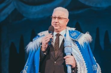 Ректор Константин Маркелов поздравляет АГУ с Новым годом